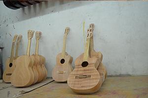 Guitarras maderas legales